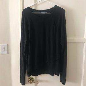 Black Athleta Sweater/ Long Sleeve Shirt Size L